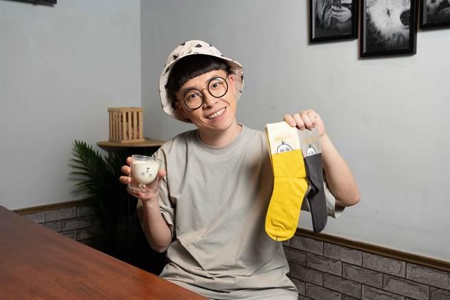 游小白推出一系列以「三騰」為名的插畫周邊商品。(史坦利國際傳媒提供)