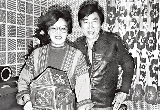 李香琴與唯一前夫蕭仲坤曾共度一段美好時光。(圖/翻攝東網)