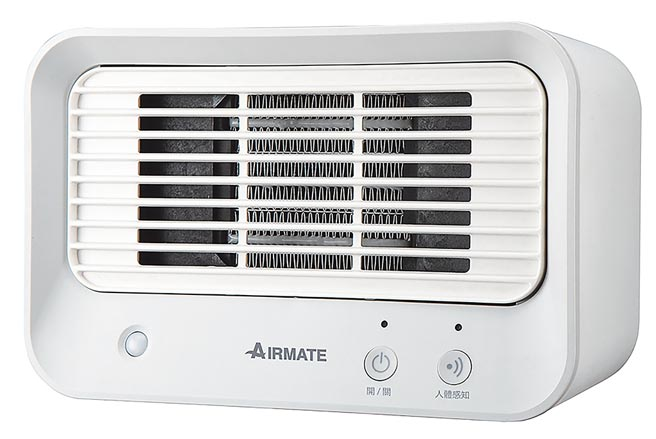 Yahoo奇摩購物中心的IRMATE艾美特人體感知美型陶瓷電暖器 HP060M,1480元。(Yahoo奇摩購物中心提供)