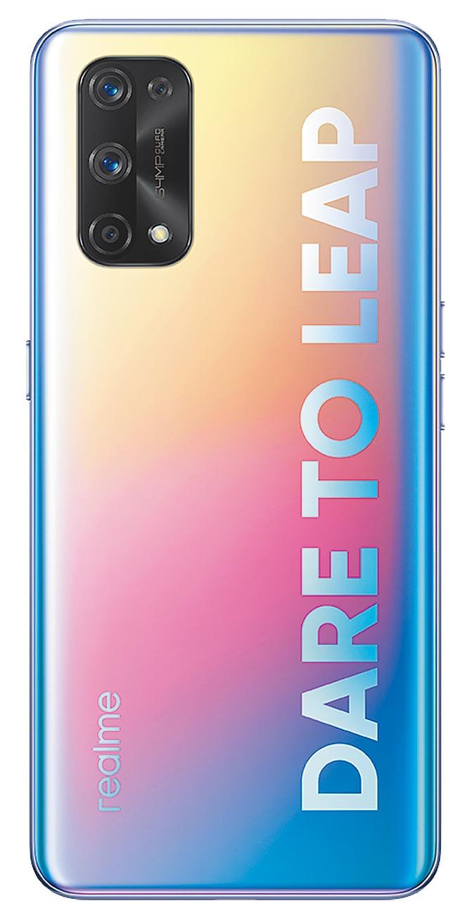 realme X7 Pro,共C位色、星宇黑和幻夢白3色,1萬4990元。(realme提供)
