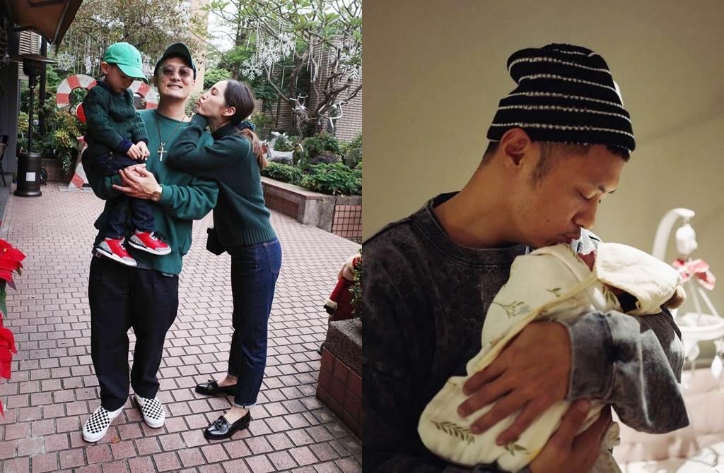 余文乐和王棠云育有一儿,去年底又生下一女。(图/翻摄自lok666 IG)