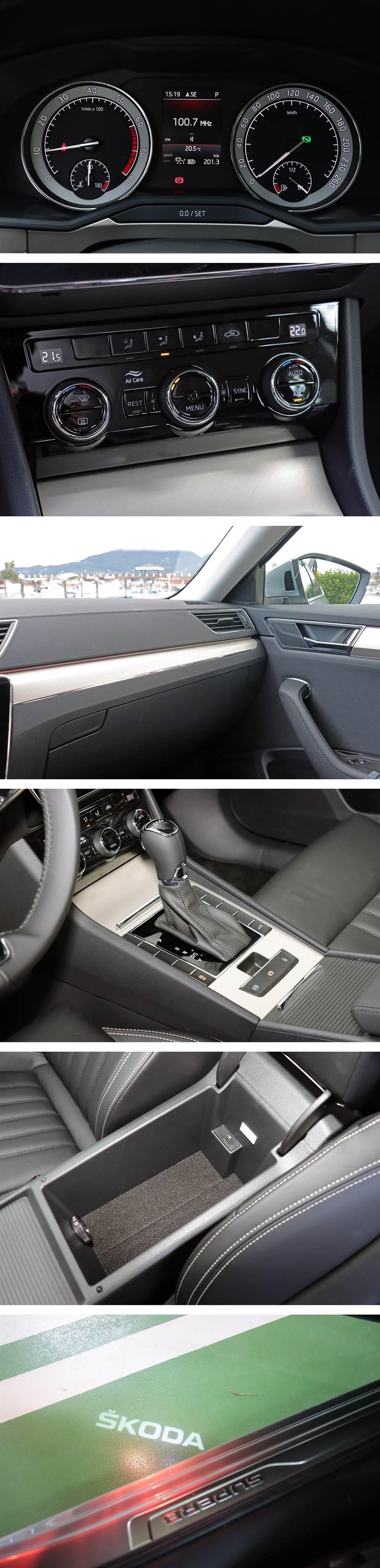 延續優雅的轎車本質,2021 Škoda Superb Sedan 1.5 TSI 菁英型