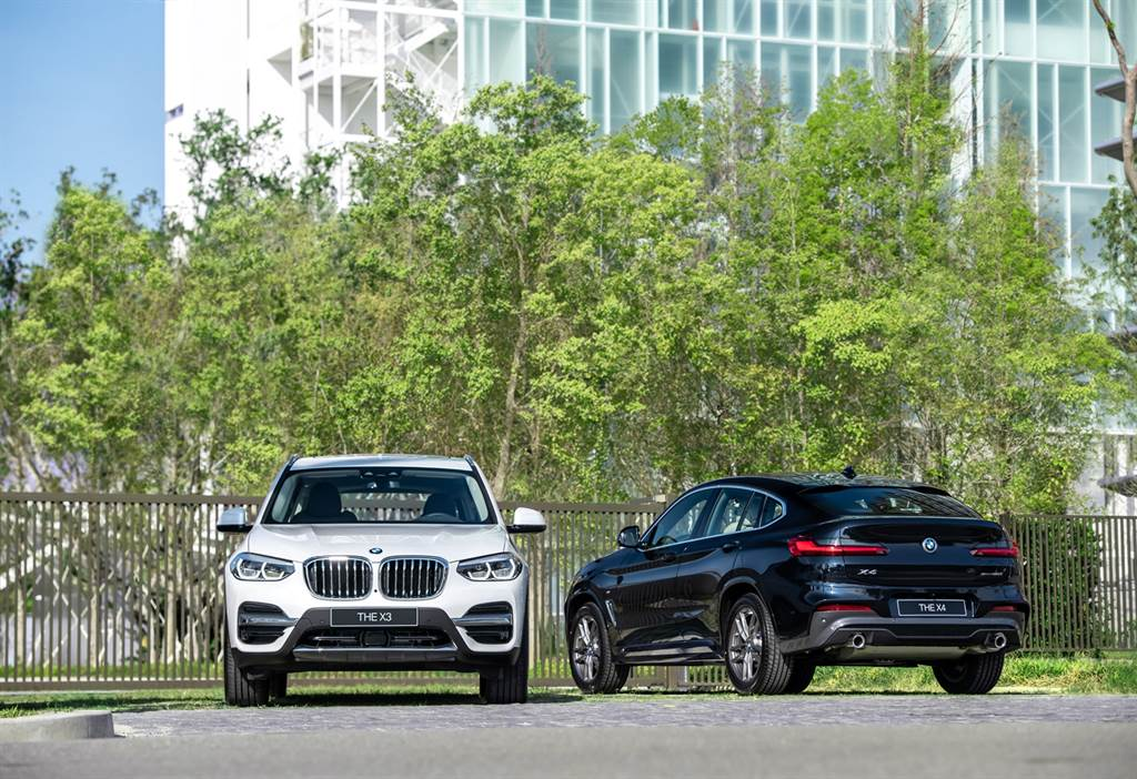 BMW總代理汎德發表全新BMW X3、X4白金領航版,提供150萬60期0利率、1年乙式全險及尊榮租賃專案。