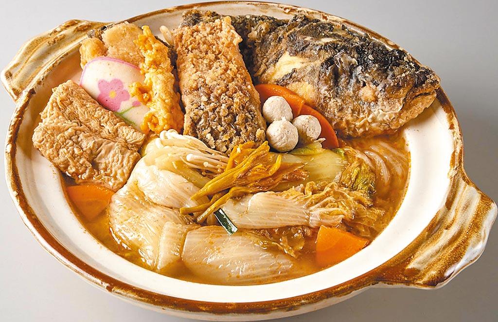 家樂福引進嘉義在地知名老字號「陳聰明砂鍋魚頭」,熟品每盒含湯汁,約2350g、728元。(家樂福提供)
