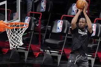 NBA》杜蘭特隔離7天 將缺陣籃網4場比賽