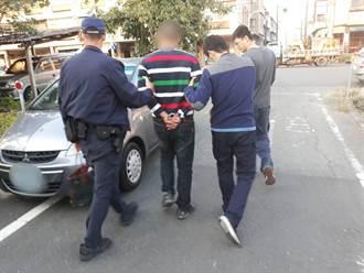 身背7案通緝犯勤搬家躲查緝 遇警車繞路反露餡