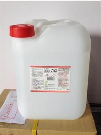 防疫酒精不純物質超標 逾9萬5000瓶恐已都用光