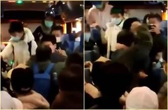 台中一中學生拒讓座 阿伯怒嗆「敗類」拉扯 警:社維法送辦