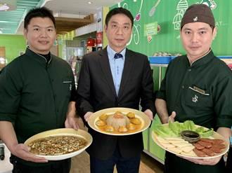 台南在地素食業者推年菜 「植物肉」熱賣估訂單增2成
