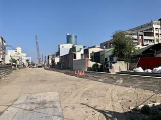 南鐵陳家拆除近3個月 全夷為平地