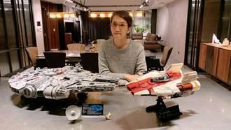 林志炫自爆後宮多到數不清 兩週拼7千片樂高玩具