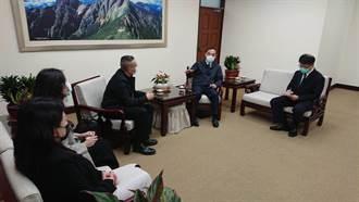 台灣營業祕密保護促進協會拜會蔡清祥 攜手宣導保護營業祕密