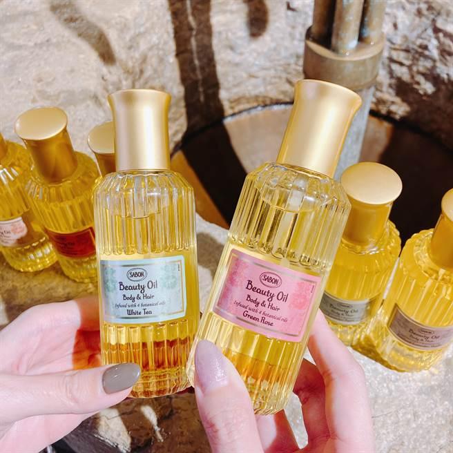 保濕光萃油能單獨使用,亦可以作為完美的保養打底,充分滋潤肌膚達成平衡的角質間脂質。(邱映慈攝)