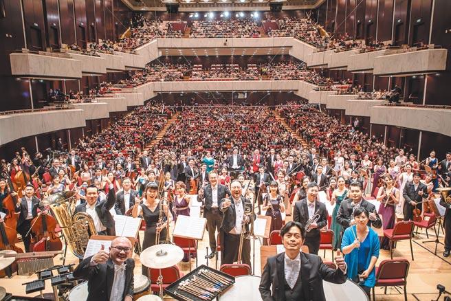 除了國外天團舉辦的新年音樂會,灣聲樂團的多元演出,也在新年度的開始,提供樂迷新的選擇。(灣聲樂團提供)