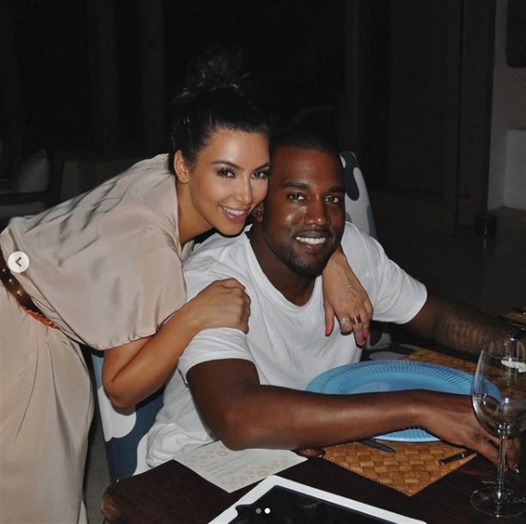 卡戴珊和肯伊的恩爱画面恐成回忆。(图/IG@kimkardashian)