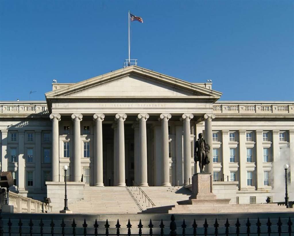 川普卸任前最後一擊,美財政部宣布制裁12家伊朗企業與3間外國代理。圖為美財政部。(圖/取自美國財政部臉書)