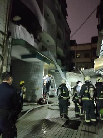 高雄大社火警 27歲女疑跳樓逃生摔死