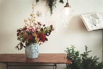 朵朵繁花 增添年節氣息