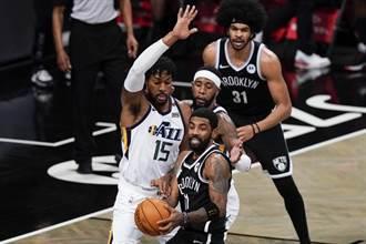 NBA》杜蘭特缺陣沒關係 籃網仍在主場打爆爵士