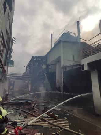 旭富製藥大火損失逾17億造成1死1傷 起火點找到了