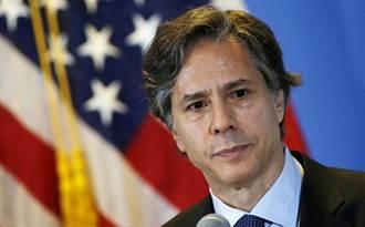 首度為香港發聲  準美國務卿批北京打壓民主