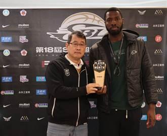 SBL》甫獲單周最佳殊榮 台啤洋將米勒再獲單月MVP
