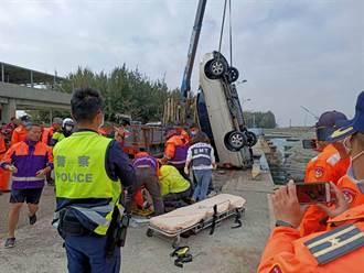 快訊》布袋漁港車輛落海意外 7旬老翁被救起無呼吸心跳