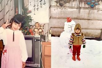 柴崎幸PO童年照賣可愛 網民視線飄向她身後
