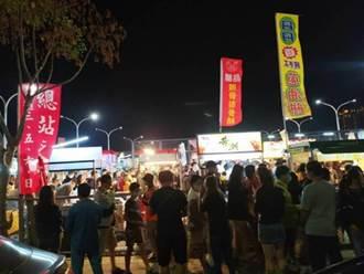 總站夜市攤商自救 7日將到台中市府舉白布條抗議