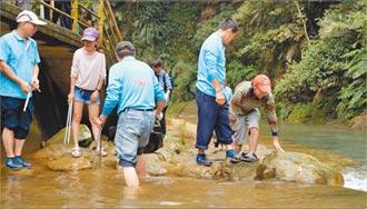 基隆封溪護魚有成 移除10外來種