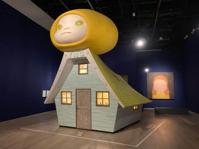 疫情下的日本展覽觀察(圖/奈良美智,Voyage of the Moon,2006,森美術館 EVENT365生活誌 提供)