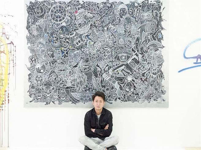 人氣天團「ARASHI嵐」隊長大野智睽違五年再度推出個展「FREESTYLE 2020」(圖/FREESTYLE 2020大野智作品展,EVENT365生活誌 提供)