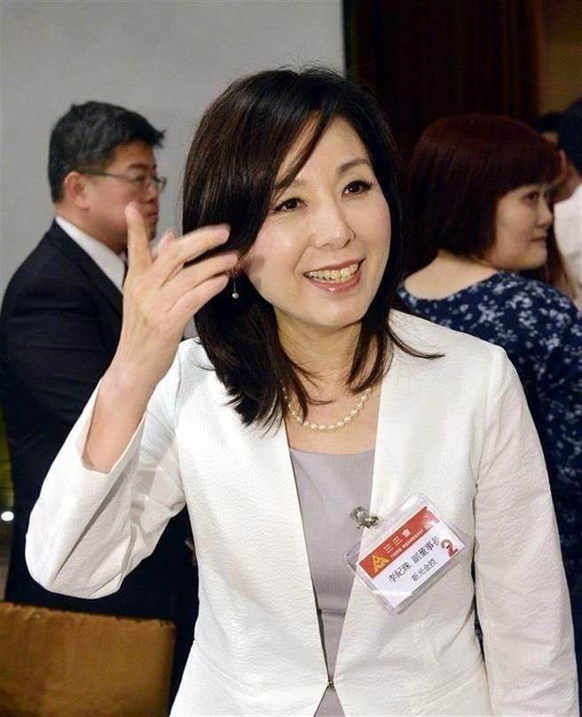 李纪珠去年12月25日转任新光银副董事长。(资料照)
