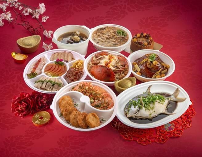 漢來「超牛台味團圓餐」。圖/漢來美食提供