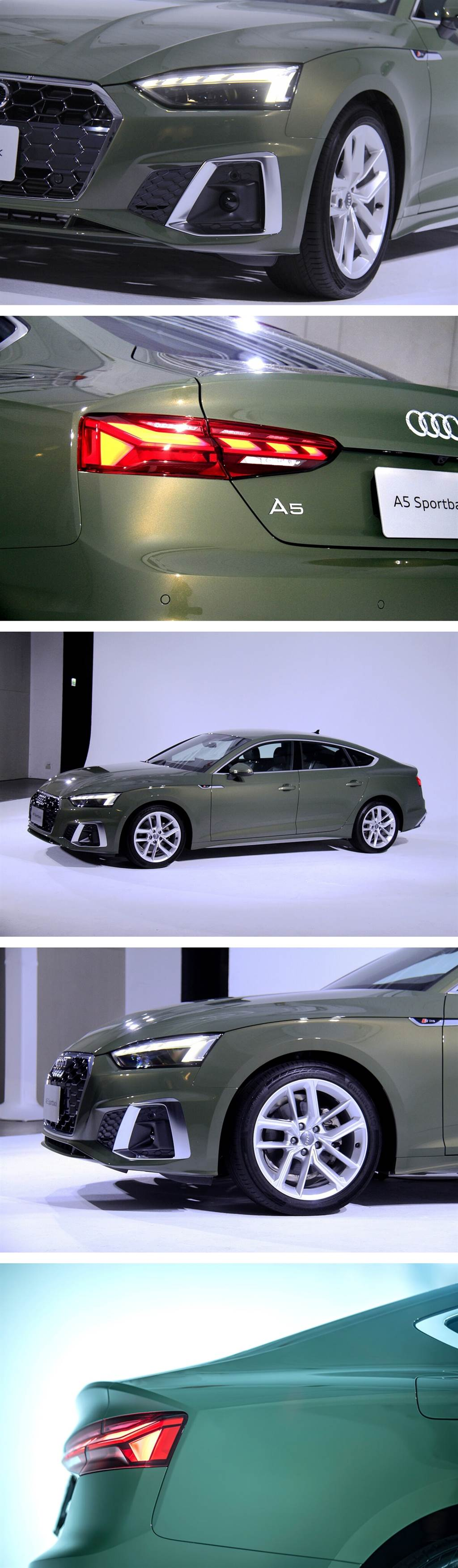 美型難以抗拒,優雅典藏在Audi A5 Sportback,三種規格登台販售