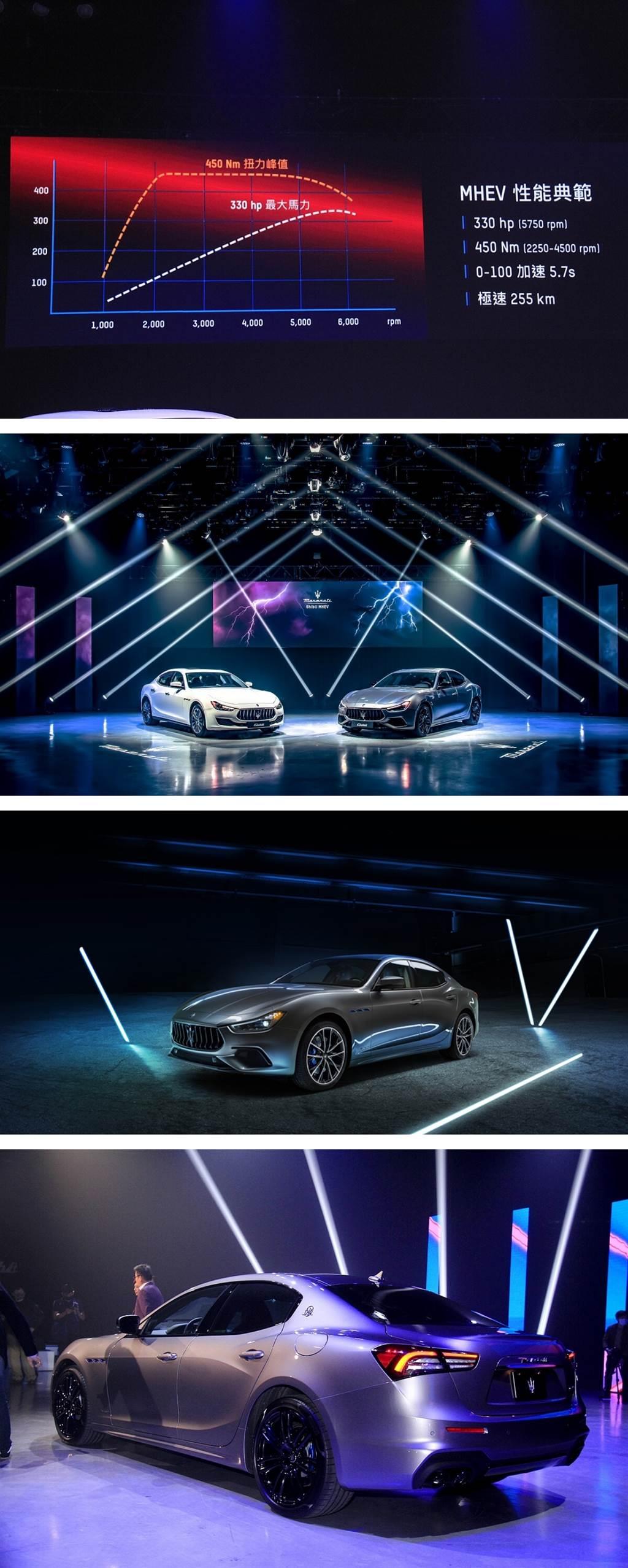 四缸帶電極補力!Maserati Ghibli MHEV 358萬起,在台上市