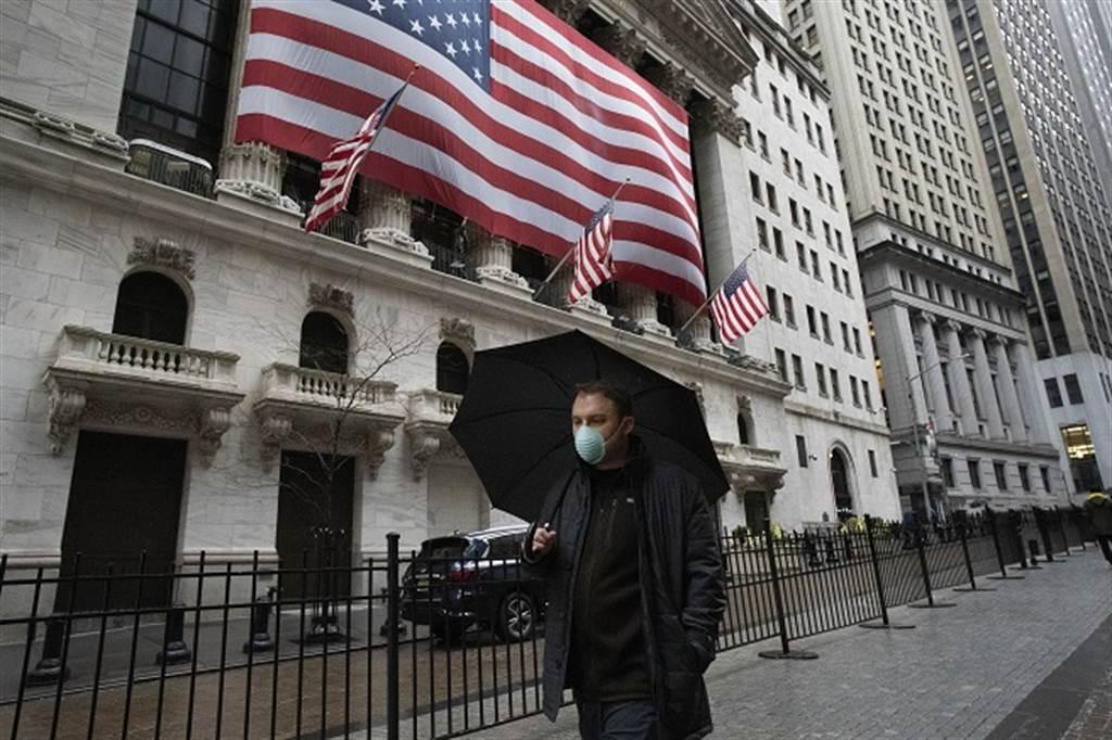 美國經濟還沒迎來強勁復甦,股市先高漲一波。(圖/美聯社)