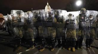 彭斯點頭鎮暴 美重兵進駐華府 FBI大動員