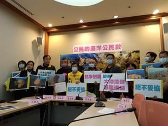反對火力發電侵害珊瑚、綠蠵龜棲地 民團公投聯署獲時力支持