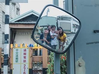 青年壯遊台灣 「咪露de澎」團隊擦拭了333面反光鏡