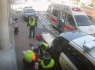 彰化男嚴重過敏險休克 警助送醫救一命