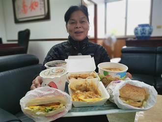 頭份市公所推幸福早餐 帶給弱勢學童溫暖開年