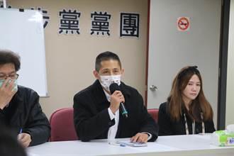 吳怡農拜會北市議會 王世堅:黨需要新的明星