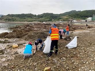 受新冠疫情影響 馬祖海漂垃圾銳減124噸