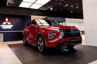 Mitsubishi Eclipse Cross小改款發表 106.9萬元起