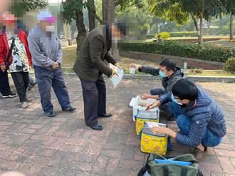 強烈冷氣團來襲  高市社會局啟動街友關懷發放物