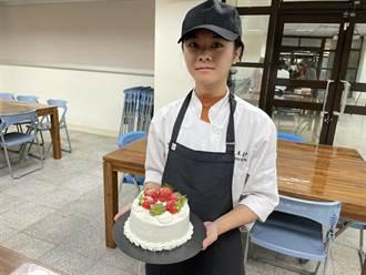 喜歡烘焙練習到半夜 三義高中劉明芳勇奪金手獎