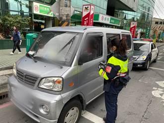 用路人注意 中和警實施1周大執法