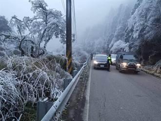寒流恐冰封4省道 上山追雪管制路段看這裡