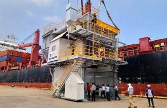台中港倉儲裝卸公司斥資7,000萬元 採購環保裝卸機具